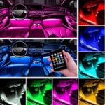 50% OFF-Car Interior Ambient Lights - ( 4 light bars/Set )