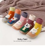 ✅New Autumn And Winter Cartoon Sock Shoes