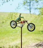 Vintage Bicycle Metal Wind Spinner