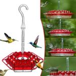 ✨ 50% OFF - Mary's Sweety Hummingbird Feeder With Perch And Built-in Ant Moat (Free Shipping)