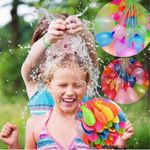 Quick Filling Water Balloons Kit - 111 Balloons Included