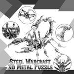 Steel Warcraft 3d Metal Puzzle