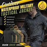 【Pre-Sale New Autumn And Winter Models】Outdoor Waterproof Military Tactical Jacket 🔥 HOT DEAL - 50% OFF 🔥