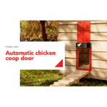 Automatic Chicken Coop Door 🔥 BUY 2 GET FREE SHIPPING 🔥
