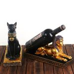 Egyptian Cat Wine Rack Choose The Sphinx Or Bast
