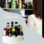 🔥 Multi-Function Anti-Skid Rotary Storage Tray