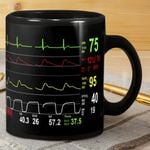 Cardiologist Number Screen Mug
