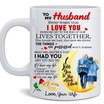 To my Husband - Never forget that I Love You Mug
