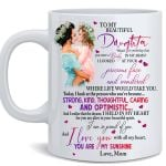 To Daughter From Mom - You Are My Sunshine
