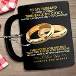 To My Husband - Couple Rings Personalized Mug