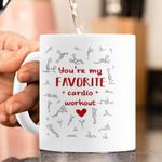 My Favorite Cardio Workout Mug