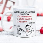 No One Told You, Personalized Mugs, Valentine's Day Gift For Her, Anniversary Gifts