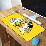 101 Dalmatians Love Of Pongo And Purdy And Couple Roger And Anita Mousepad