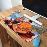 50 First Dates Adam Sandler And Drew Barrymore On The Beach Mousepad
