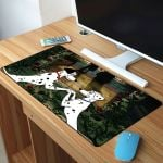 101 Dalmatians Love Of Pongo And Purdy Mousepad
