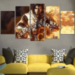 Dark Prince Of Persia Game Wall Art Canvas