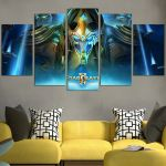 StarCraft II Legacy Of The Void Wall Art Canvas