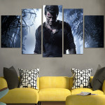 Uncharted Only Man Wall Art Canvas