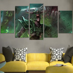 Undying Dota 2 Wall Art Canvas