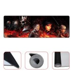 The Witcher 3 Wild Hunt Characters Mousepad