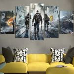 Tom Clancy's The Division Wall Art Canvas