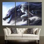 LOL Kindred Wall Art Canvas
