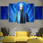 Devil May Cry Vergil Wall Art Canvas