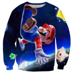 Super Mario Flying In Space Shirts
