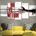 The Evil Within Hand Wall Art Canvas