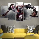 God of War Collection Wall Art Canvas