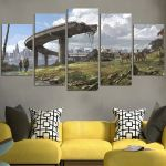 The Last of Us Landscape Wall Art Canvas