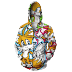 Hoodie Tails 3D Printed Shirts
