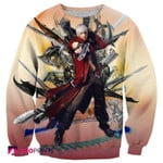 Dante Character In Devil May Cry Shirts