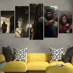 The Last of Us Remastered Wall Art Canvas