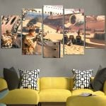 Spec Ops The Line Multi7 Plaza Wall Art Canvas