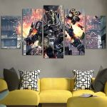 Titanfall The Drama Of Competition Wall Art Canvas