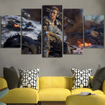 Call of Duty Black Ops Specialist Battery Wall Art Canvas