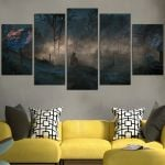 The Witcher 3 Landscape Wall Art Canvas