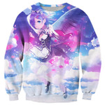 Re Zero Rem With Wings Shirts