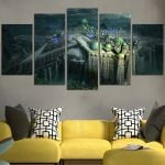 City Shadow Of The Colossus Wall Art Canvas