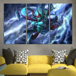 Storm Spirit In Divine Ascension Wall Art Canvas