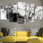 Violet Evergarden Black And White Wall Art Canvas