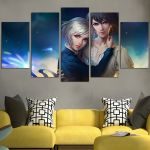 Howl's Moving Castle Fantasy Wall Art Canvas