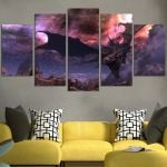 The Elder Scrolls Skyrim Wide Our Space Wall Art Canvas