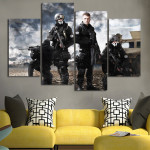 Call of Duty Ghost Backgrounds Wall Art Canvas