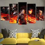 Monster Hunters For Hire The Witcher Wall Art Canvas