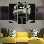 Soul Eater Dr.Stein Wall Art Canvas