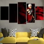 Devil May Cry Dante Holds A Gun Wall Art Canvas