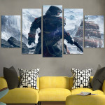Ezio Auditore And Boat Wall Art Canvas