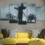 The Witcher Wall Art Canvas